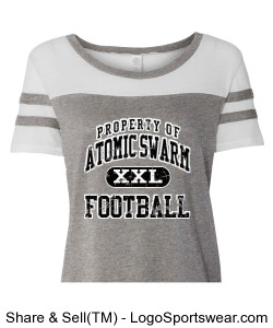 Womens Vintage 50/50 Jersey Stadium Tee Design Zoom