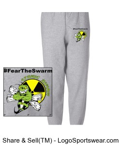 Hanes EcoSmart® Fleece Sweatpant Design Zoom